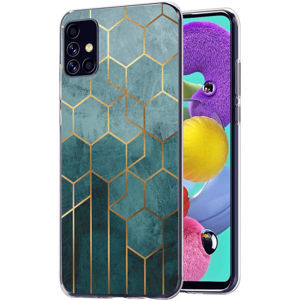 iMoshion Design hoesje Samsung Galaxy A51 - Patroon - Groen