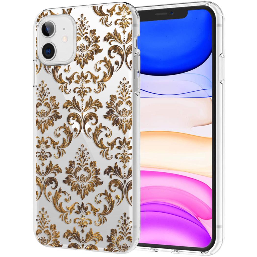 iMoshion Design hoesje iPhone 11 - Grafisch - Luxe Goud