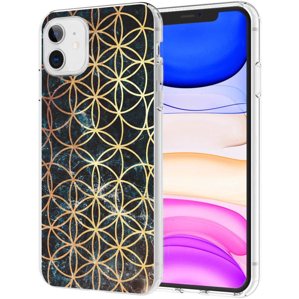 iMoshion Design hoesje iPhone 11 - Ring - Zwart / Goud