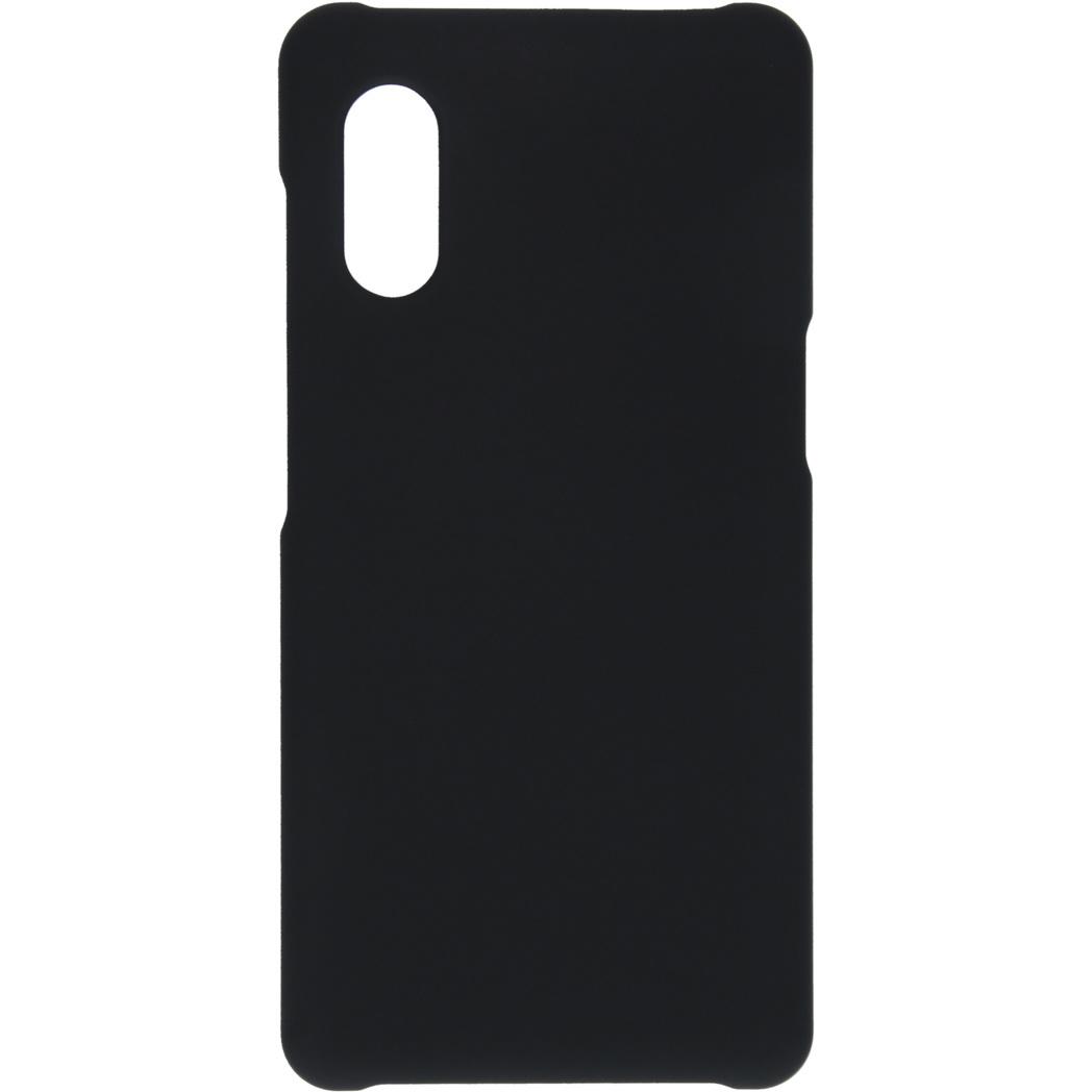 Effen Backcover Samsung Galaxy Xcover Pro - Zwart
