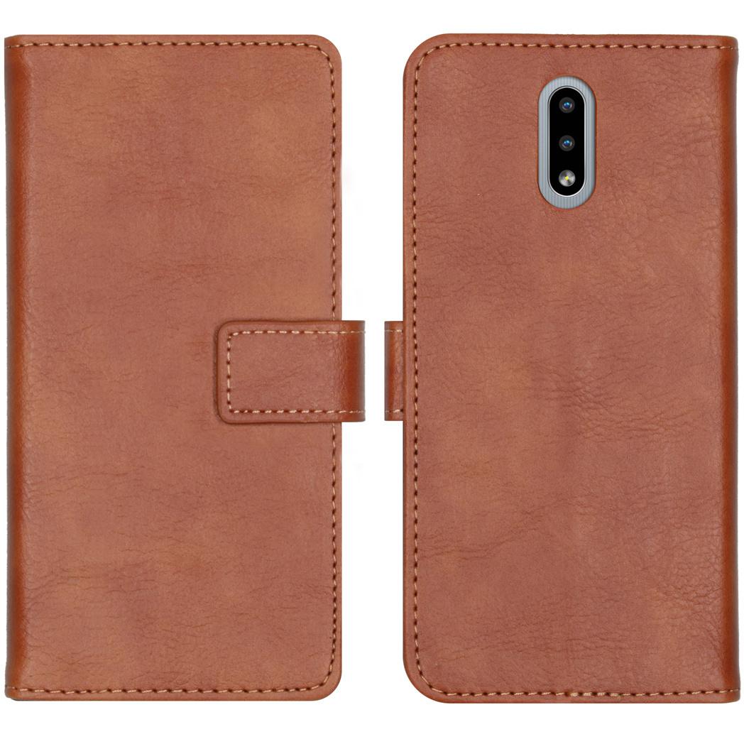 iMoshion Luxe Booktype Nokia 2.3 - Bruin