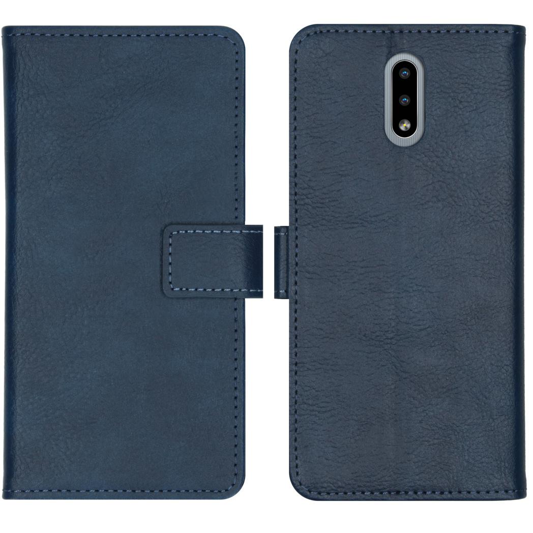 iMoshion Luxe Booktype Nokia 2.3 - Donkerblauw