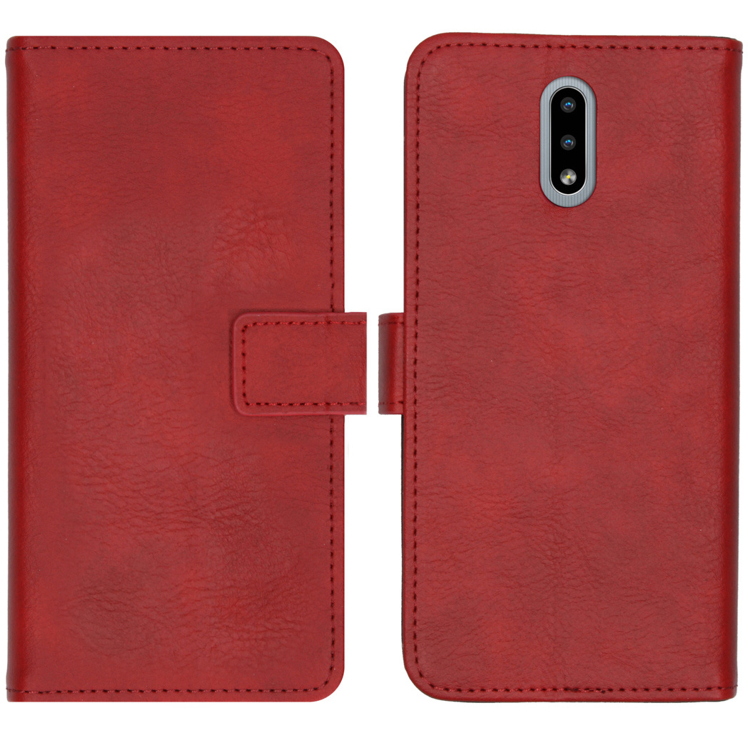 iMoshion Luxe Booktype Nokia 2.3 - Rood