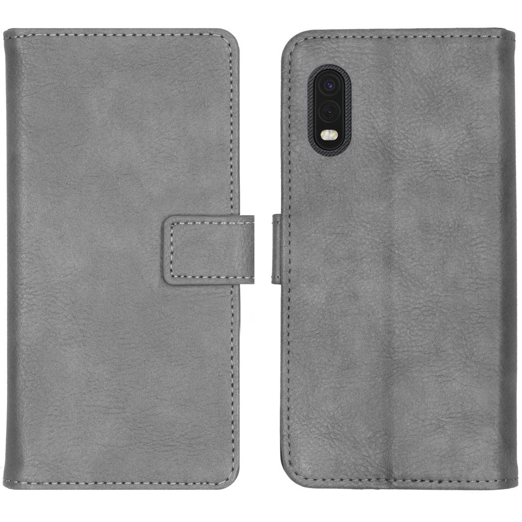 iMoshion Luxe Booktype Samsung Galaxy Xcover Pro - Grijs