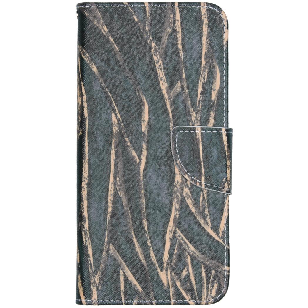 Design Softcase Booktype Nokia 2.3 - Wild Bladeren