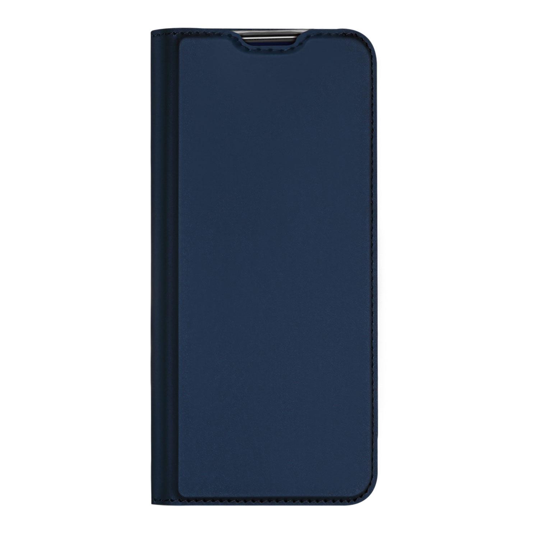 Dux Ducis Slim Softcase Booktype OnePlus 8 - Donkerblauw