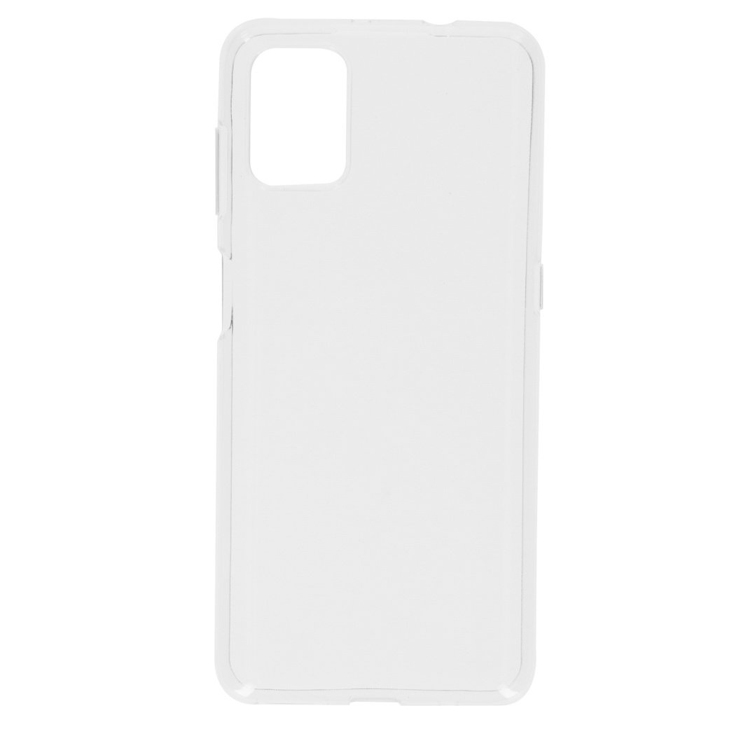 Softcase Backcover Motorola Moto G9 Plus - Transparant