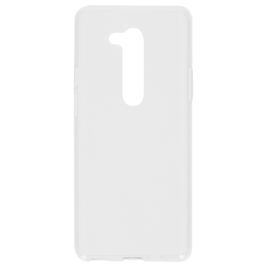 Softcase Backcover OnePlus 8 Pro - Transparant