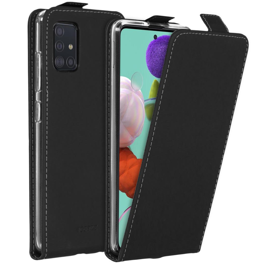 Accezz Flipcase Samsung Galaxy A51 - Zwart