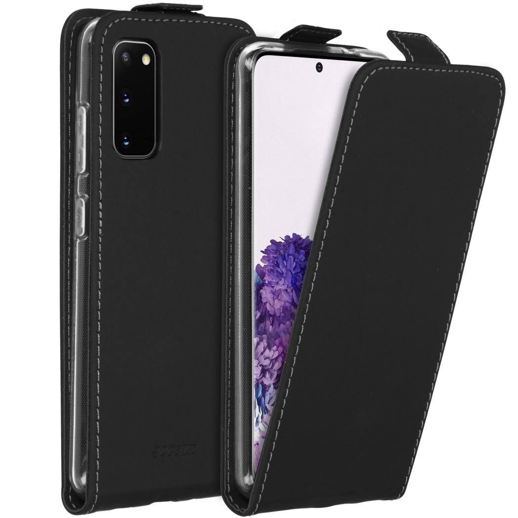 Accezz Flipcase Samsung Galaxy S20 - Zwart