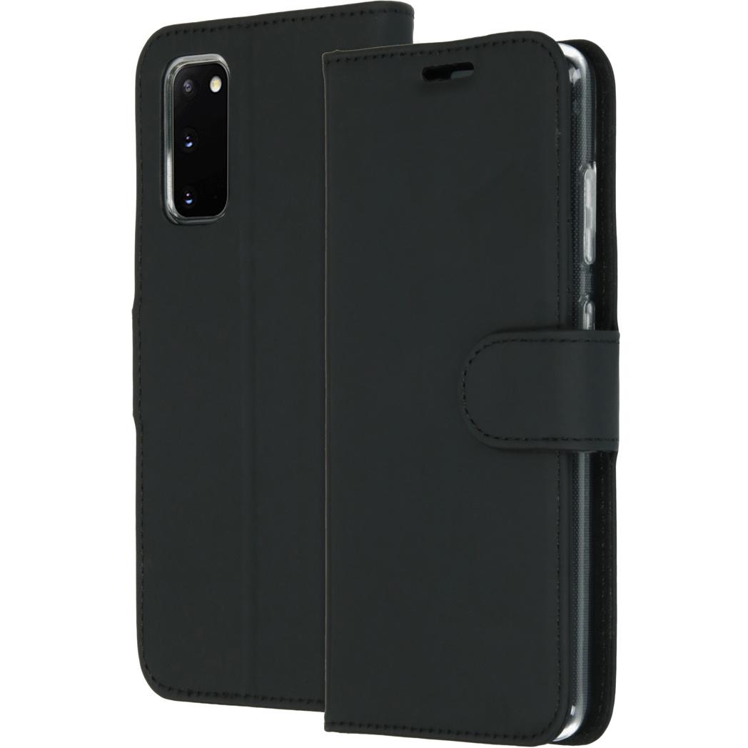 Accezz Wallet Softcase Booktype Samsung Galaxy S20 - Zwart