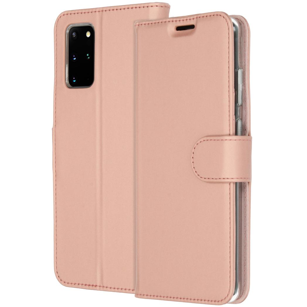 Accezz Wallet Softcase Booktype Samsung Galaxy S20 Plus - Rosé Goud