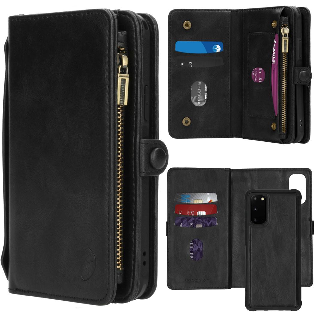 iMoshion 2-in-1 Wallet Booktype Samsung Galaxy S20 - Zwart