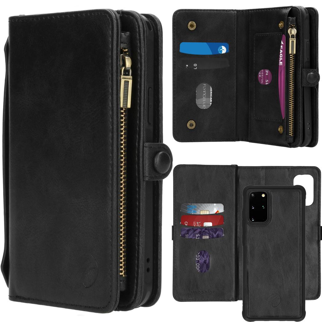 iMoshion 2-in-1 Wallet Booktype Samsung Galaxy S20 Plus - Zwart