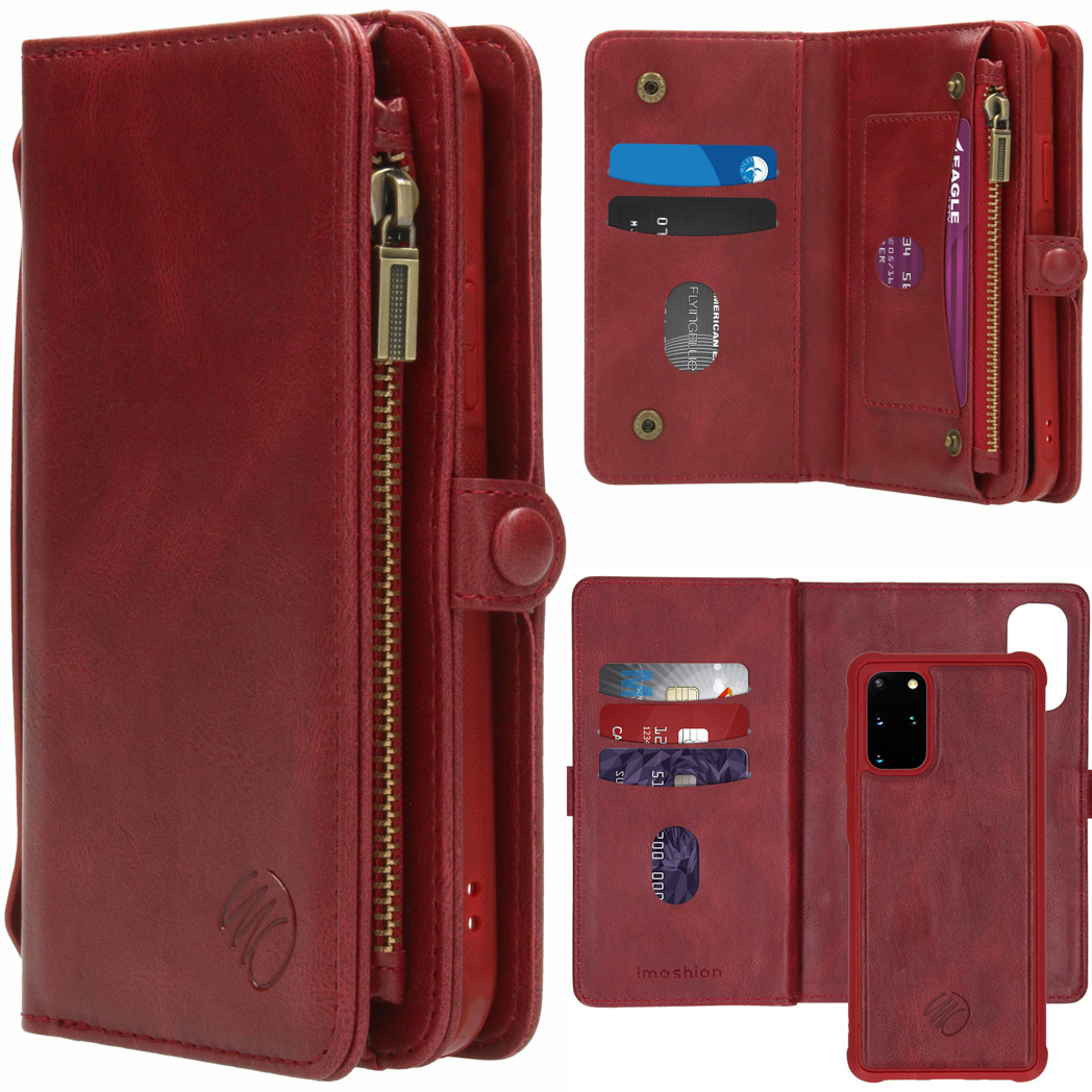 iMoshion 2-in-1 Wallet Booktype Samsung Galaxy S20 Plus - Rood