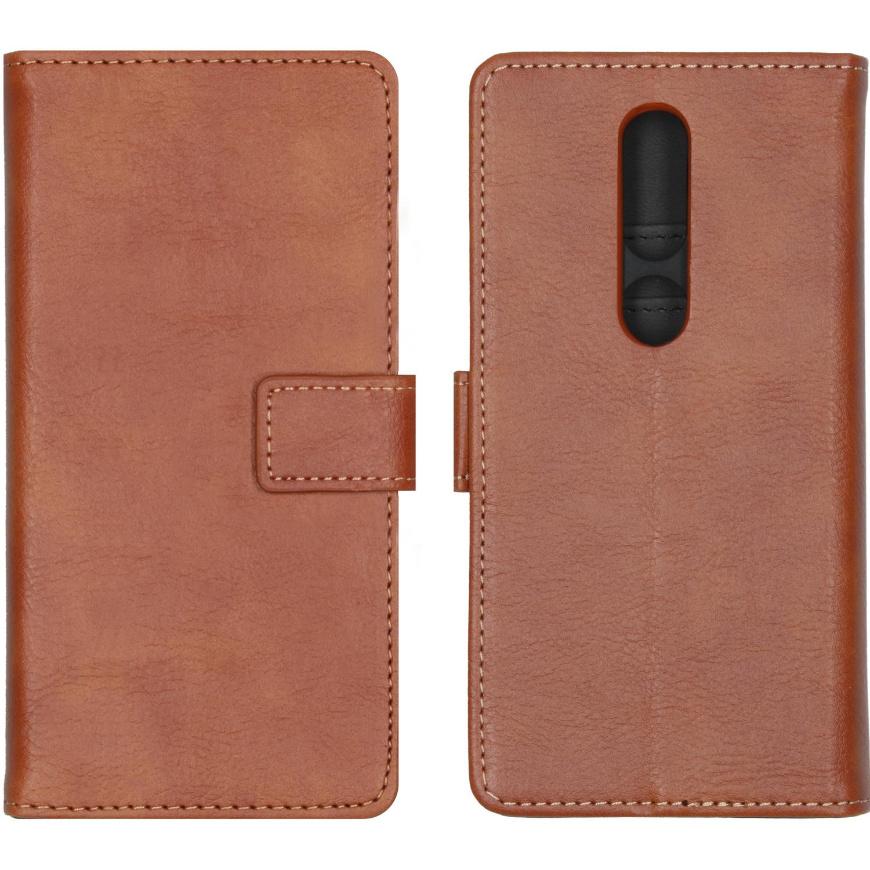 iMoshion Luxe Booktype Nokia 4.2 - Bruin