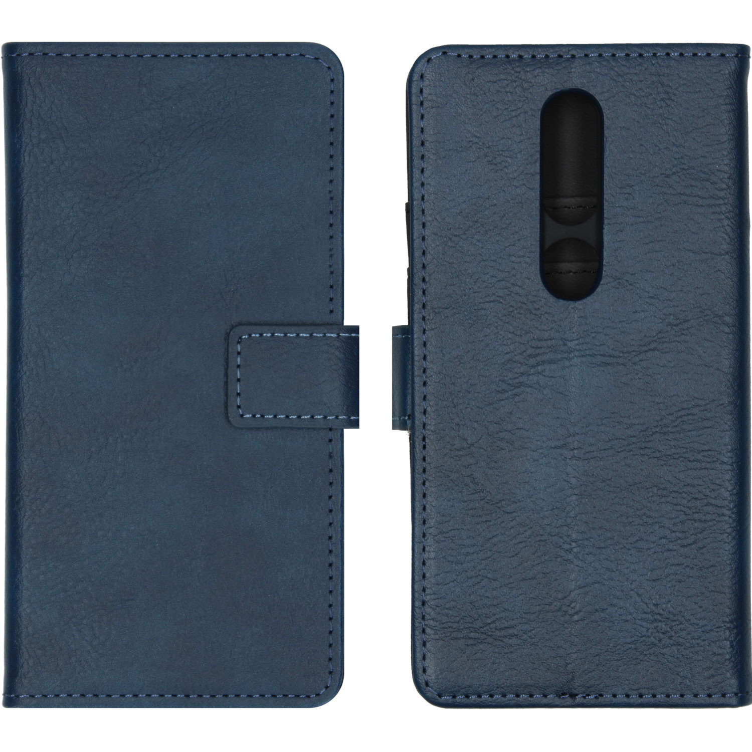 iMoshion Luxe Booktype Nokia 4.2 - Donkerblauw
