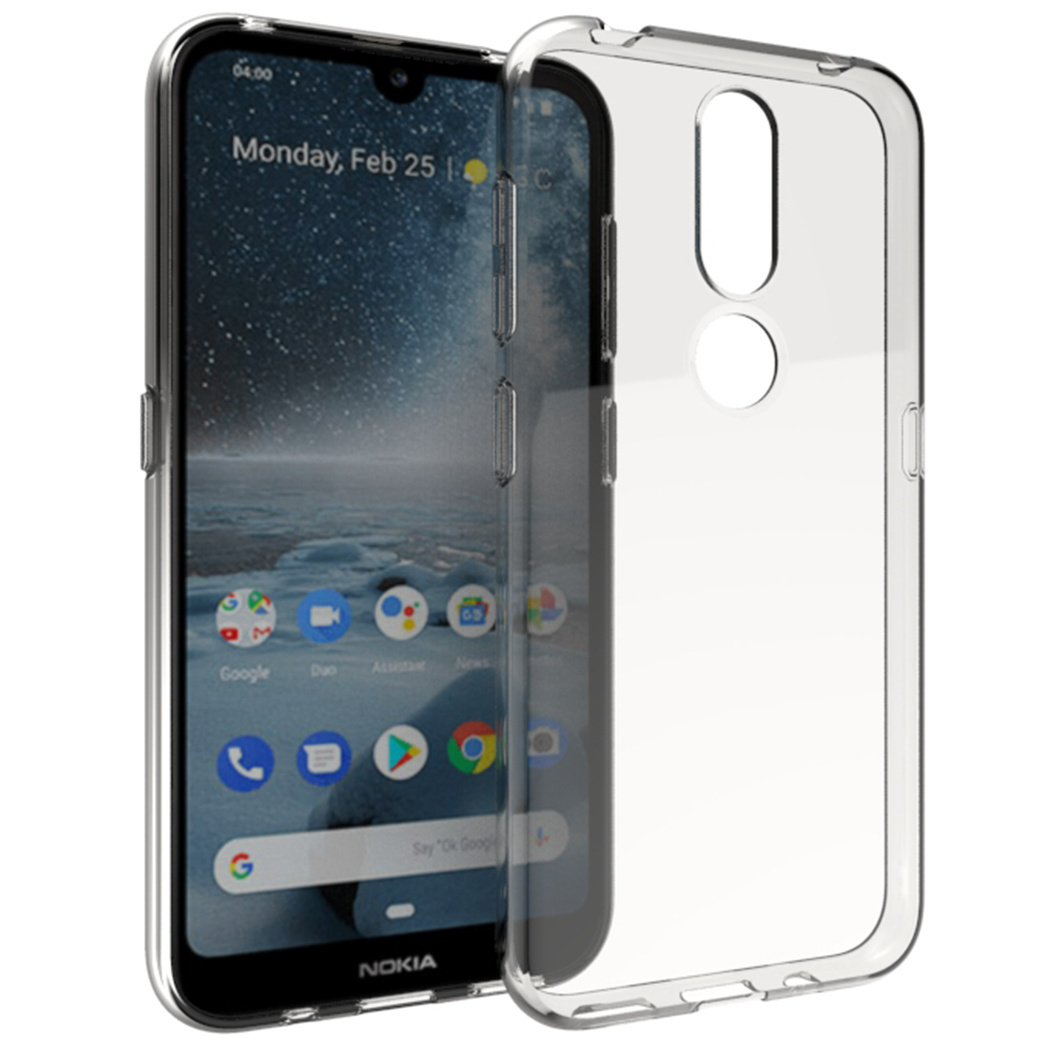 Accezz Clear Backcover Nokia 4.2 - Transparant