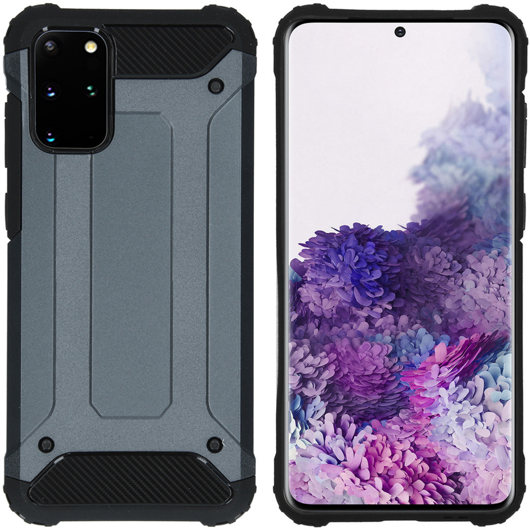 iMoshion Rugged Xtreme Backcover Galaxy S20 Plus - Donkerblauw