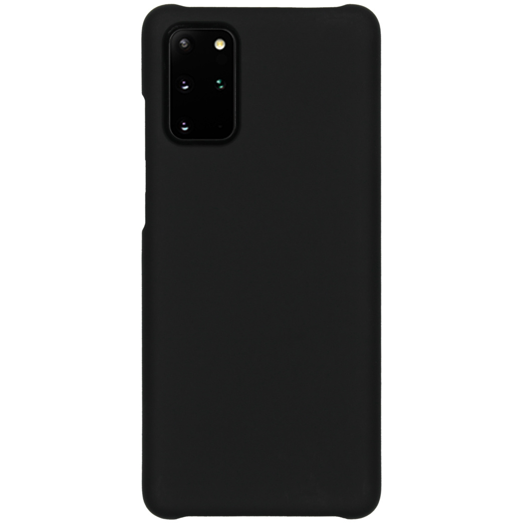 Effen Backcover Samsung Galaxy S20 Plus - Zwart