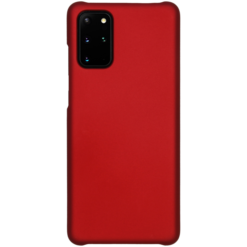 Effen Backcover Samsung Galaxy S20 Plus - Rood