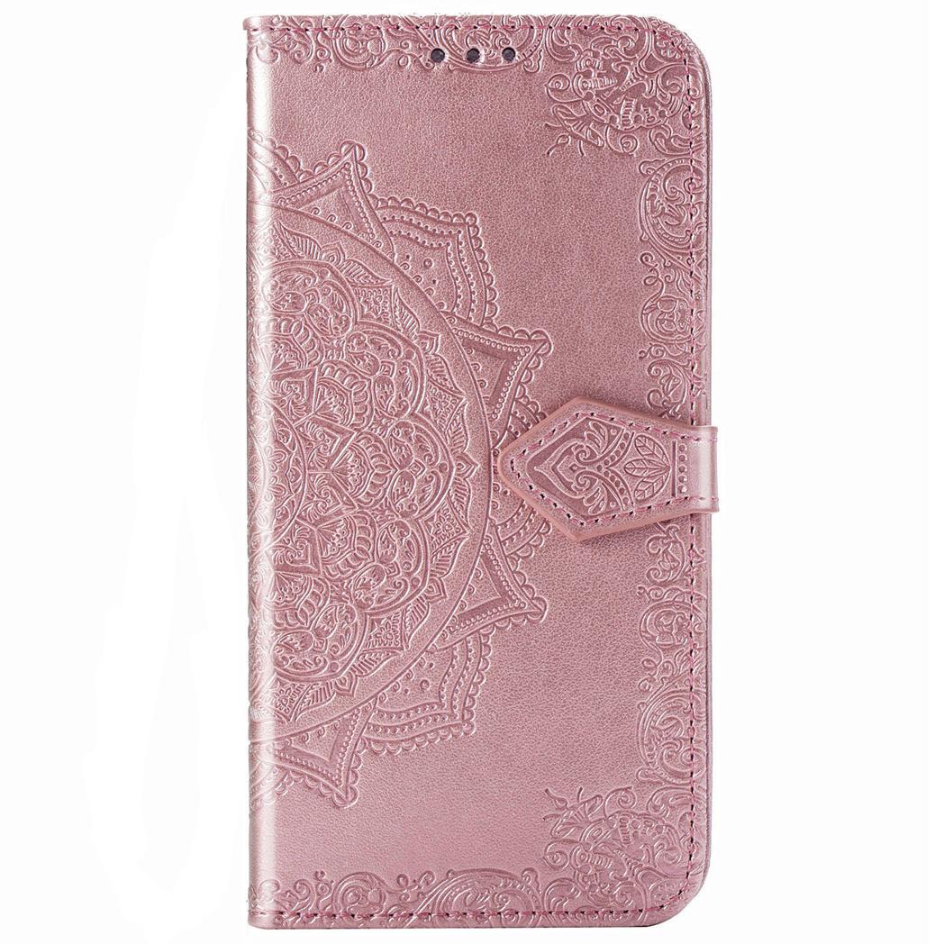 Mandala Booktype Xiaomi Mi 10 (Pro) - Rosé Goud