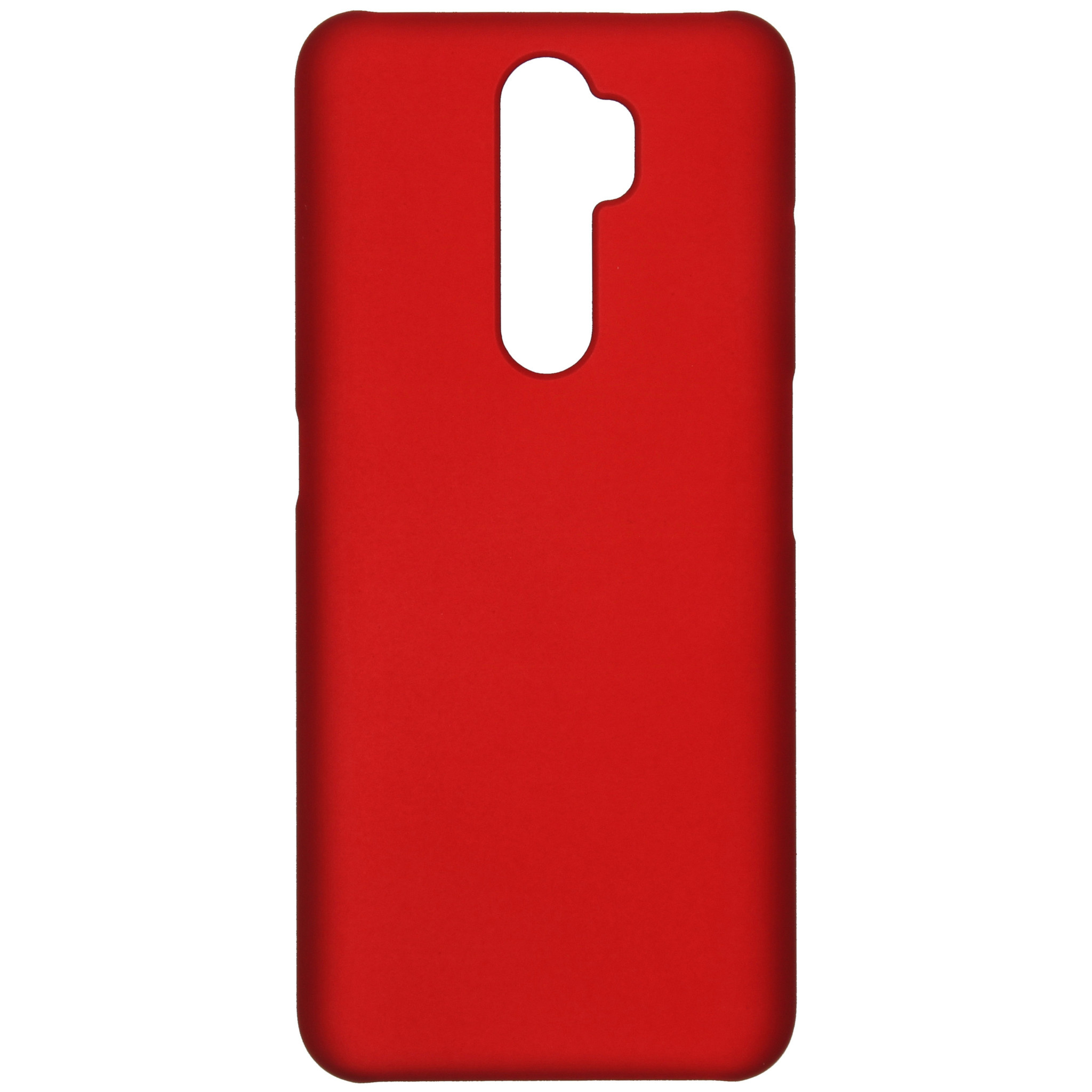 Effen Backcover Oppo A5 (2020) / A9 (2020) - Rood