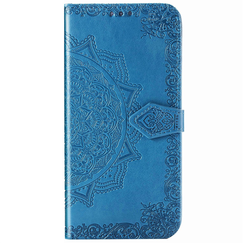 Mandala Booktype Xiaomi Redmi 9 - Turquoise