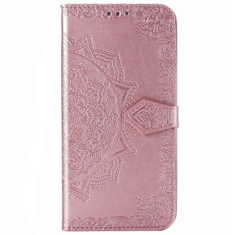 Mandala Booktype Xiaomi Redmi 9 - Rosé Goud