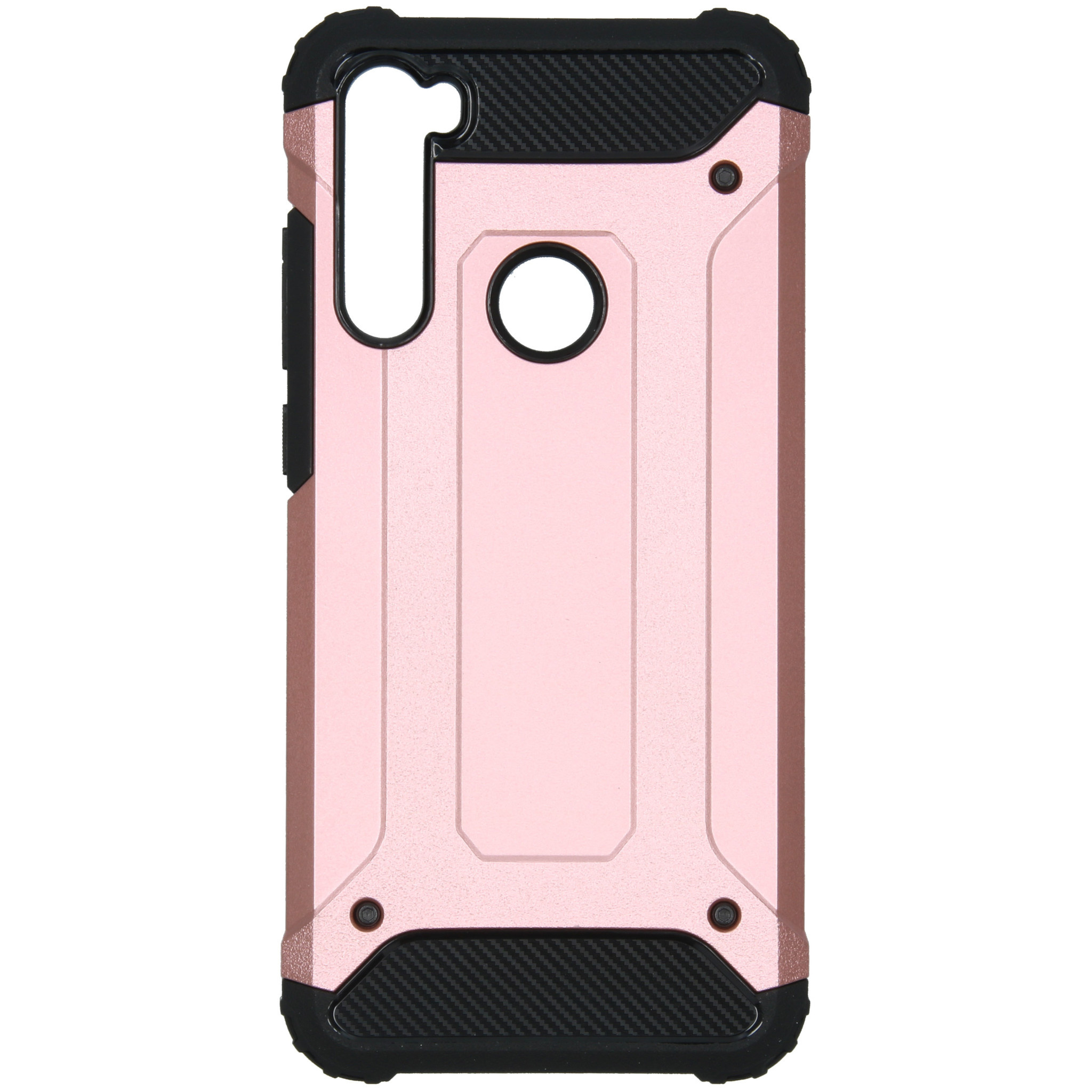 iMoshion Rugged Xtreme Backcover Xiaomi Redmi Note 8T - Rosé Goud