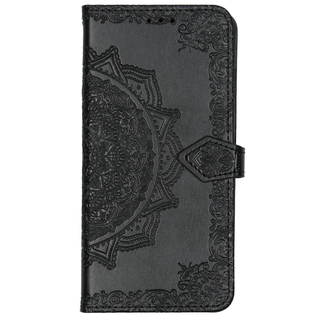 Mandala Booktype Xiaomi Redmi Note 8T - Zwart