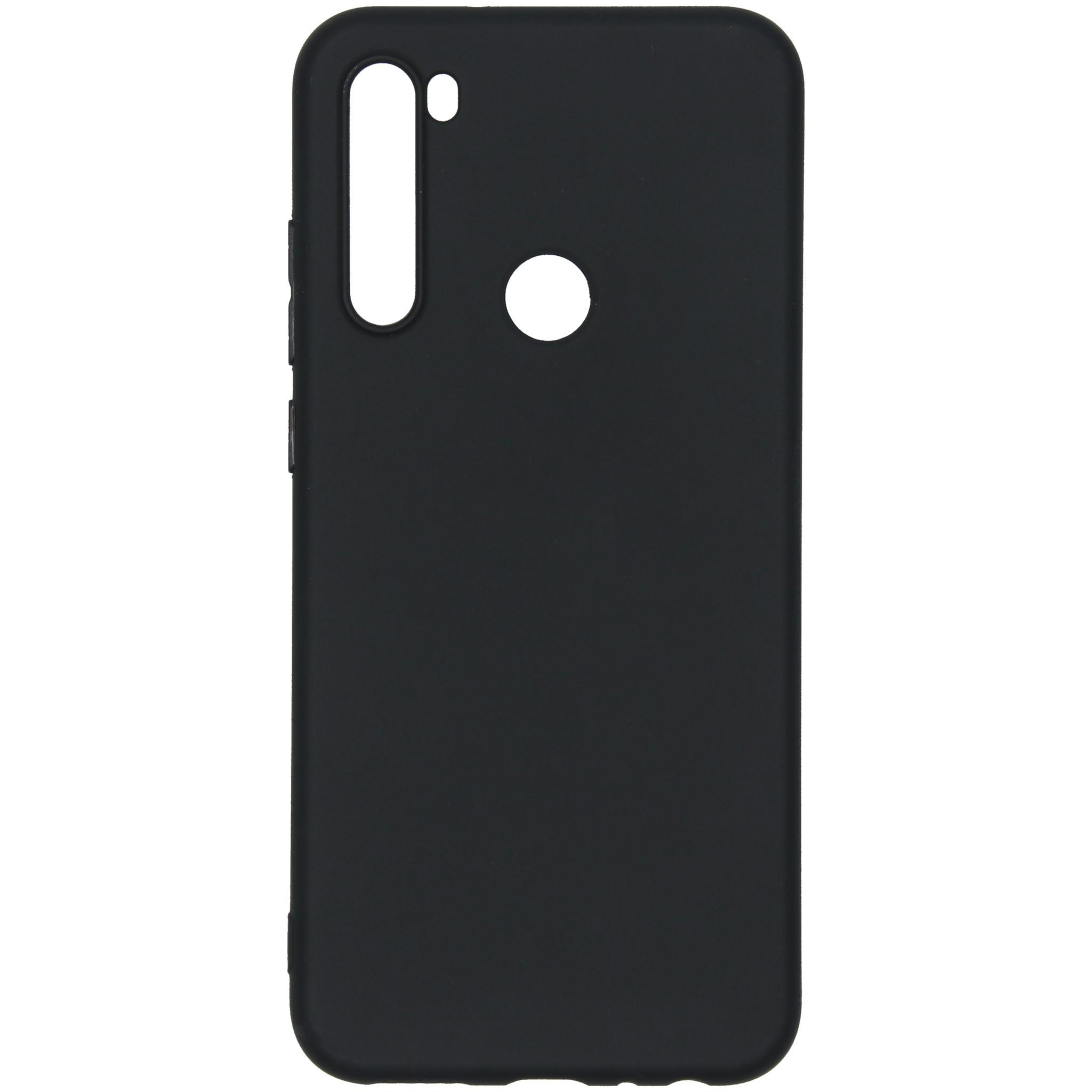 iMoshion Color Backcover Xiaomi Redmi Note 8T - Zwart
