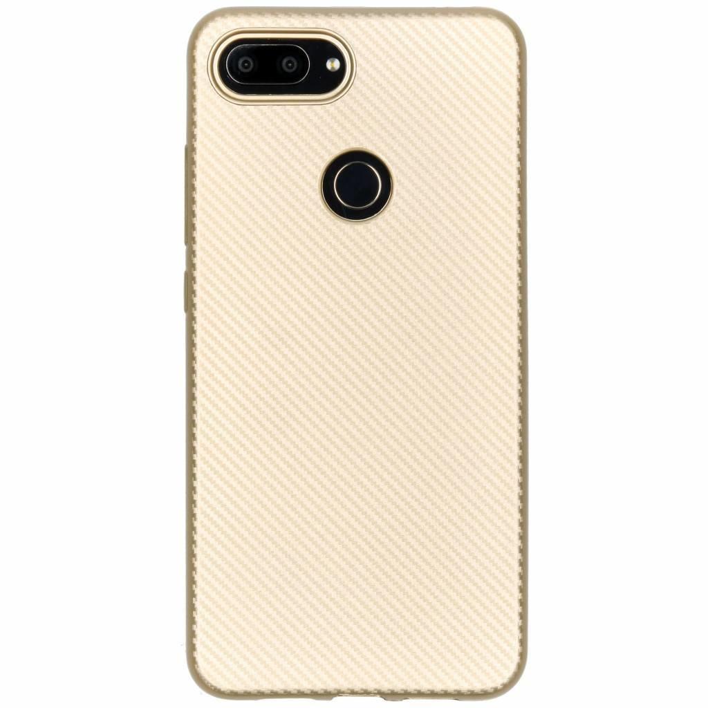 Carbon Softcase Backcover Xiaomi Mi 8 Lite
