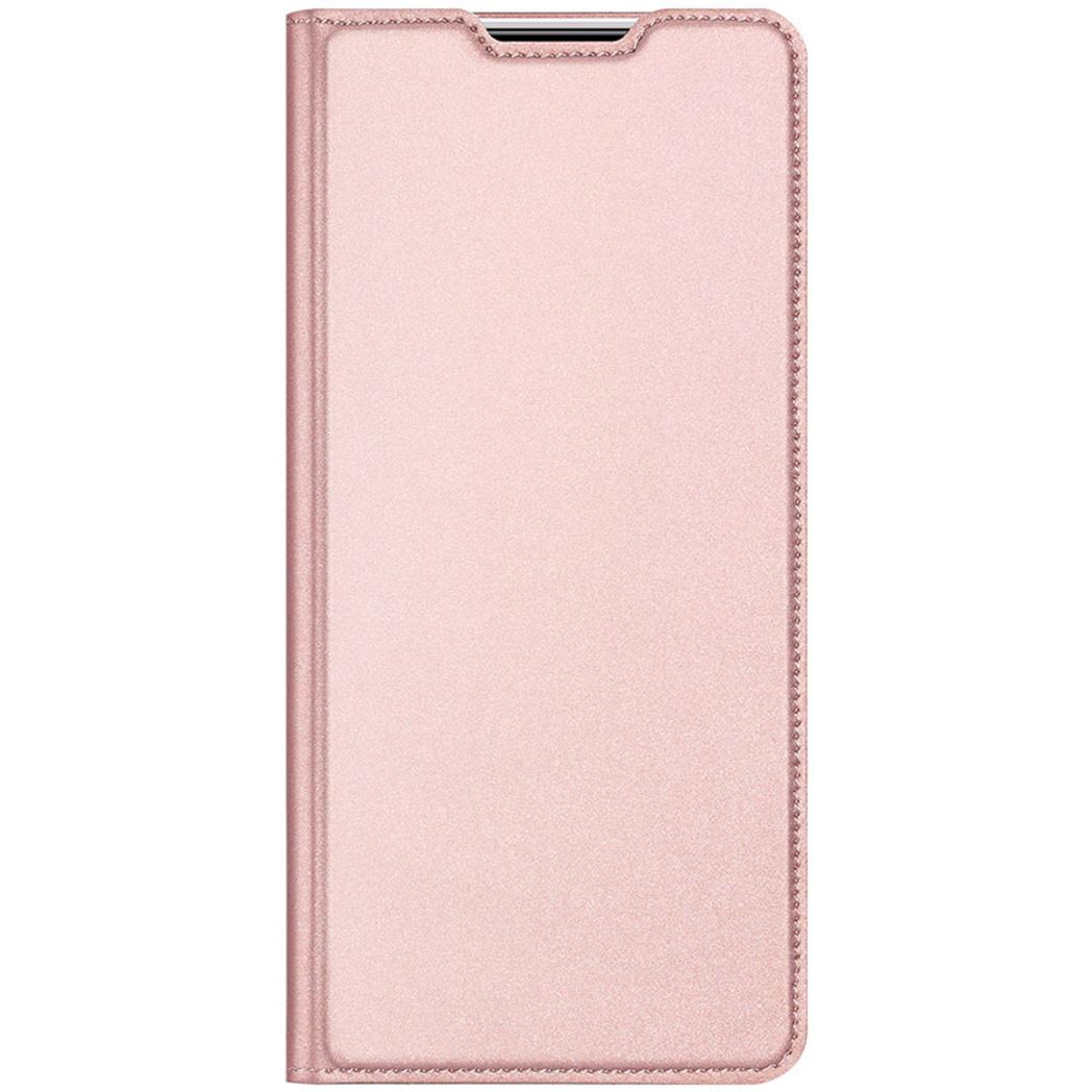 Dux Ducis Slim Softcase Booktype Xiaomi Redmi Note 9 - Rosé Goud