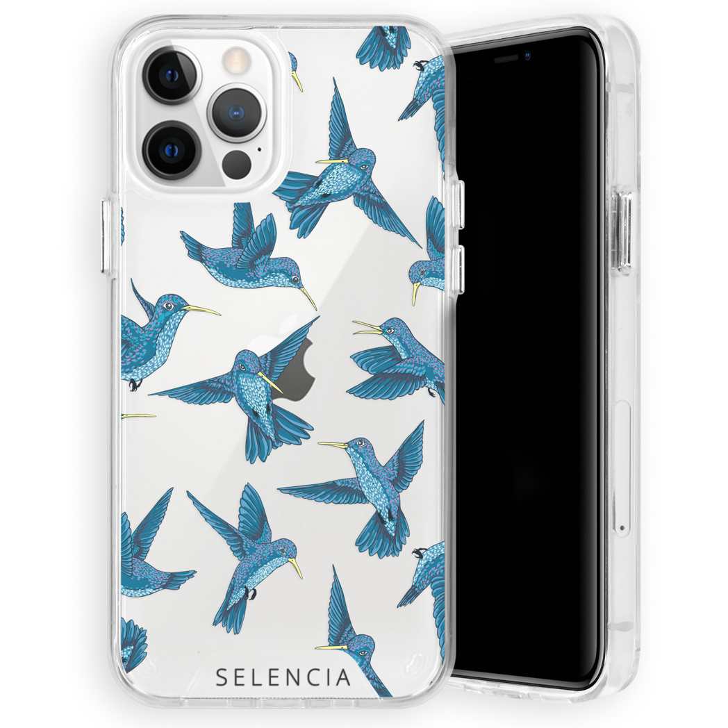 Selencia Fashion Extra Beschermende Backcover iPhone 12 (Pro)