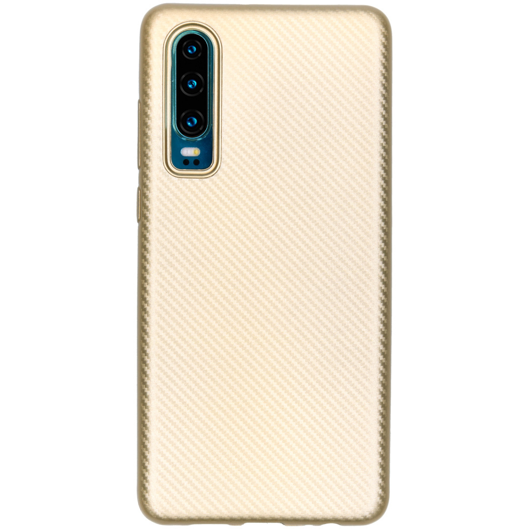 Carbon Softcase Backcover Huawei P30