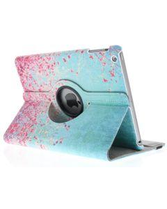 360° Draaibare Design Bookcase voor iPad Air - Roze Bloesem