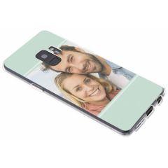 Ontwerp je eigen Samsung Galaxy S9 gel hoesje