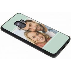 Ontwerp je eigen Samsung Galaxy S9 gel hoesje - Zwart