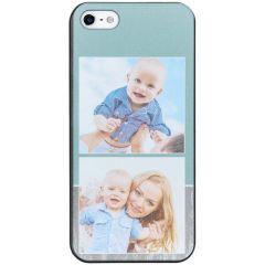 Ontwerp je eigen iPhone 5 / 5s / SE hardcase hoesje - Zwart