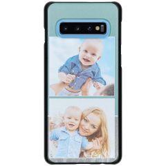 Ontwerp je eigen Samsung Galaxy S10 hardcase hoesje - Zwart