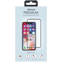 Selencia Gehard Glas Premium Screenprotector iPhone Xs / X