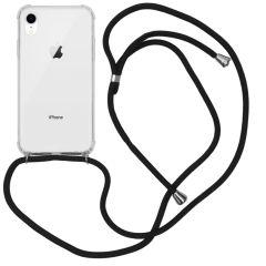 iMoshion Backcover met koord iPhone Xr - Zwart