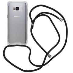 iMoshion Backcover met koord Samsung Galaxy S8 - Zwart