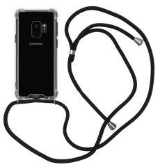 iMoshion Backcover met koord Samsung Galaxy S9 - Zwart