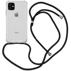 iMoshion Backcover met koord iPhone 11 - Zwart