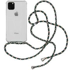 iMoshion Backcover met koord iPhone 11 Pro Max - Groen