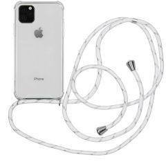 iMoshion Backcover met koord iPhone 11 Pro Max - Wit Zilver