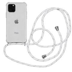 iMoshion Backcover met koord iPhone 11 Pro - Wit Zilver