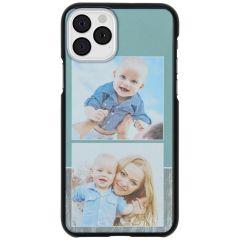 Ontwerp je eigen iPhone 11 Pro hardcase hoesje - Zwart